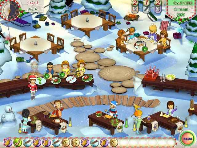 amelie's cafe: holiday spirit screenshots 1