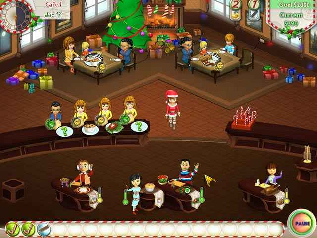 amelie's cafe: holiday spirit screenshots 2