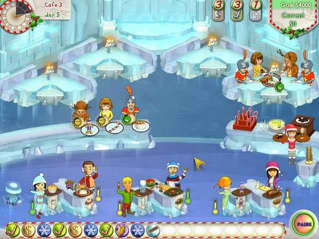 amelie's cafe: holiday spirit screenshots 3