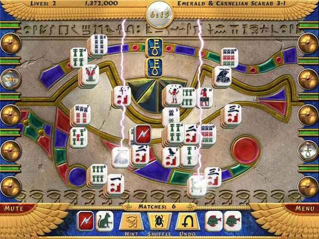luxor mahjong screenshots 1