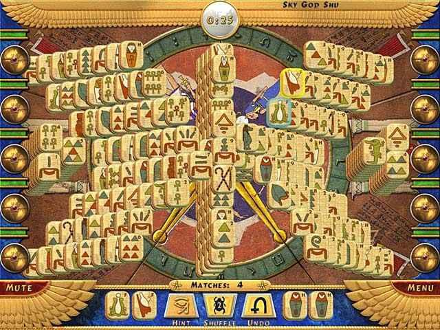 luxor mahjong screenshots 2