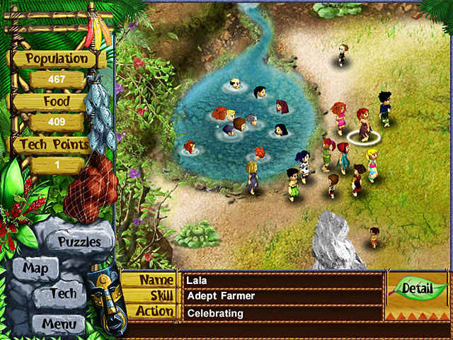 virtual villagers: a new home screenshots 2