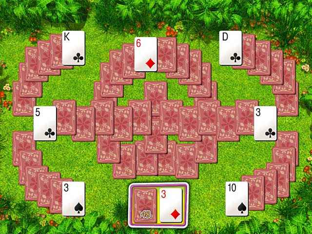 summer tri-peaks solitaire screenshots 1