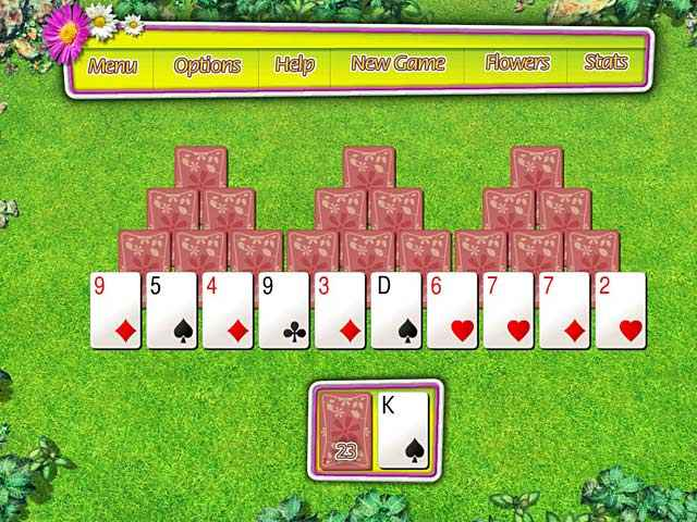 summer tri-peaks solitaire screenshots 2