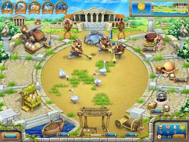 farm frenzy: ancient rome screenshots 1