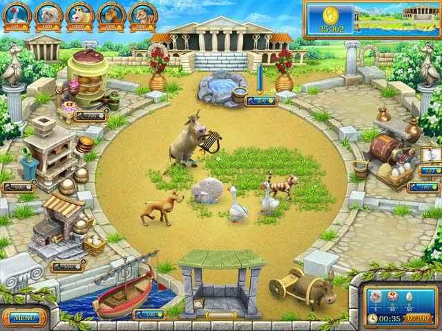 farm frenzy: ancient rome screenshots 2