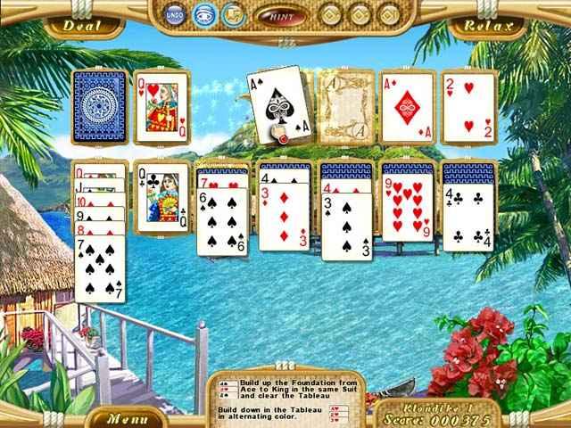 dream vacation solitaire screenshots 1