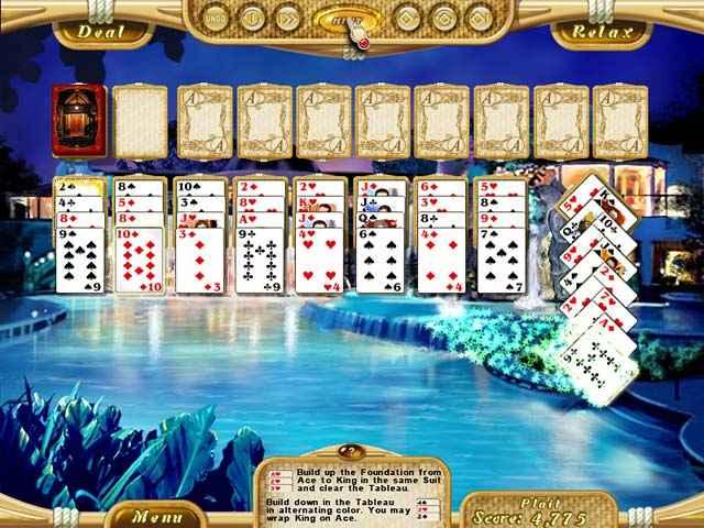 dream vacation solitaire screenshots 2