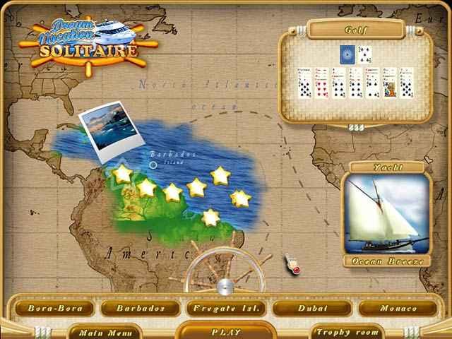dream vacation solitaire screenshots 3