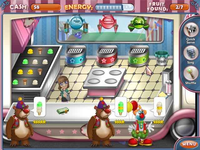 ice cream craze: natural hero screenshots 1
