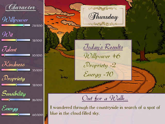 matches and matrimony: a pride and prejudice tale screenshots 2