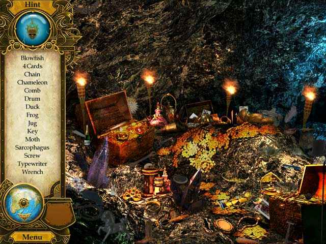 pirate mysteries: a tale of monkeys, masks, and hidden objects screenshots 2