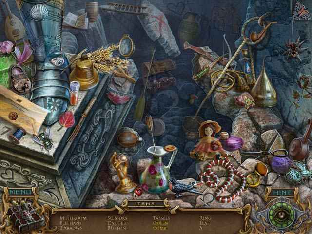 spirits of mystery: amber maiden collector's edition screenshots 1
