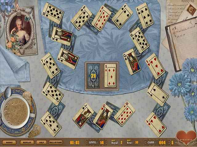royal challenge solitaire screenshots 1