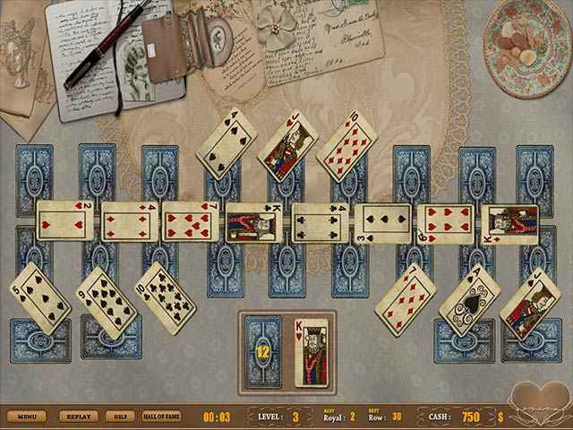 royal challenge solitaire screenshots 3