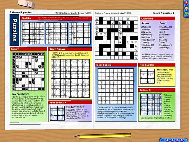 newspaper puzzle challenge - sudoku edition screenshots 2