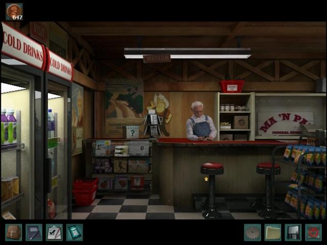 nancy drew: the trail of the twister screenshots 1