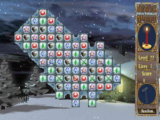 jewel match - winter wonderland screenshots 1