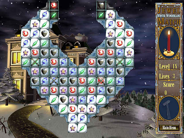 jewel match - winter wonderland screenshots 2