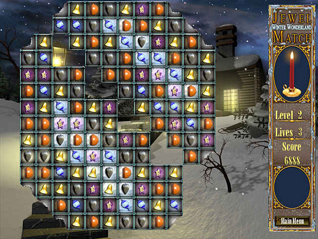 jewel match - winter wonderland screenshots 3