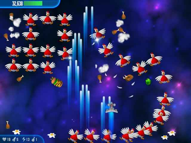 chicken invaders 3 christmas edition screenshots 2
