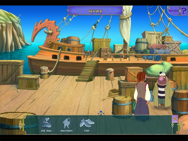 sinbad: in search of magic ginger screenshots 1