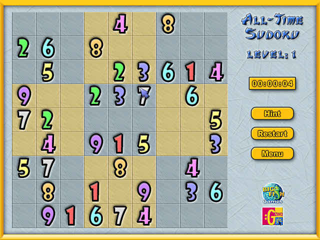 all-time sudoku screenshots 2