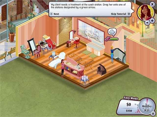 sara's super spa deluxe screenshots 3