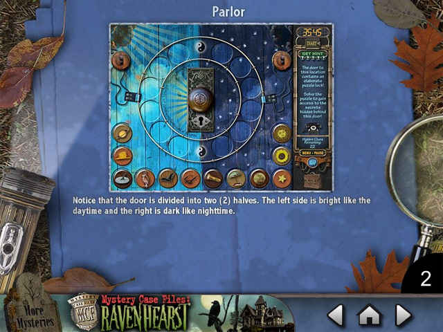 mystery case files ravenhearst : puzzle door strategy guide screenshots 1
