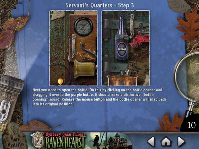 mystery case files ravenhearst : puzzle door strategy guide screenshots 2