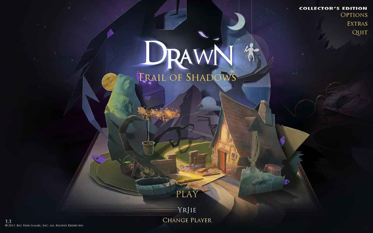 drawn: trail of shadows collector's edition screenshots 1