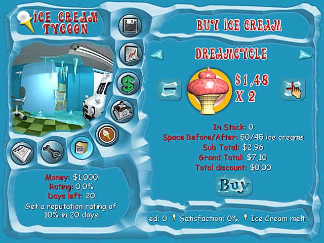 ice cream tycoon screenshots 2