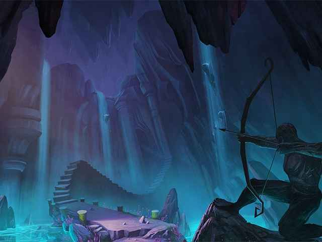 drawn: trail of shadows screenshots 2