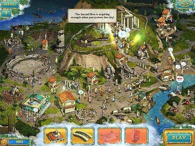 heroes of hellas 3: athens screenshots 1