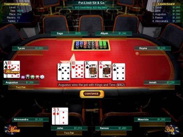 big fish games texas hold'em screenshots 1