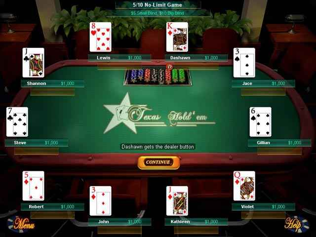 big fish games texas hold'em screenshots 2
