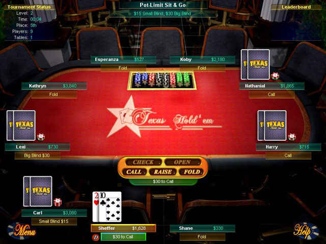 Big fish games texas hold 39 em bdstudiogames for Texas game and fish