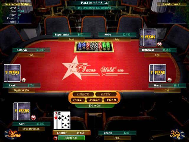 big fish games texas hold'em screenshots 3