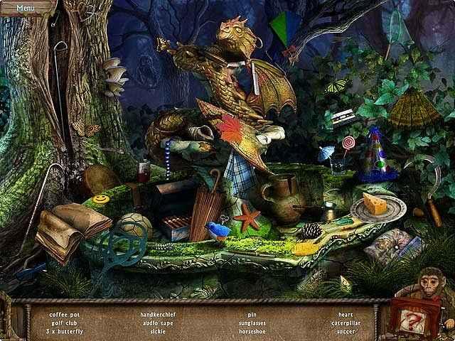 weird park: broken tune collector's edition screenshots 1