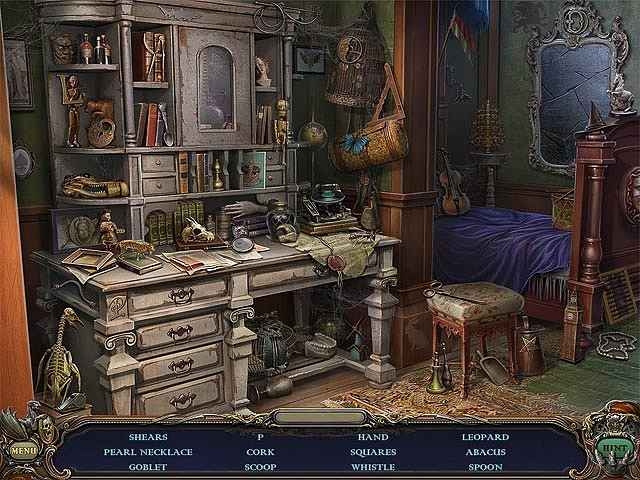 haunted manor: queen of death collector's edition screenshots 1