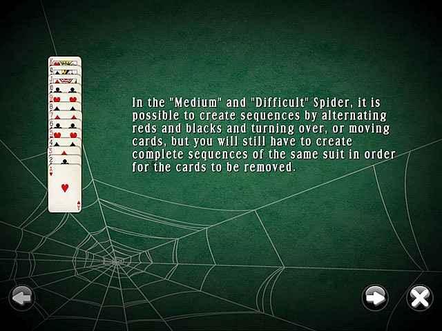 spidermania solitaire screenshots 1