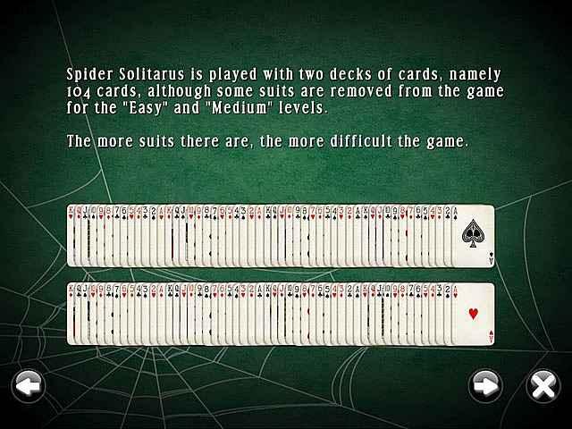 spidermania solitaire screenshots 3