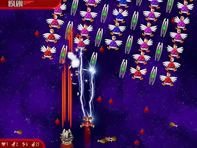 chicken invaders: ultimate omelette christmas edition screenshots 2