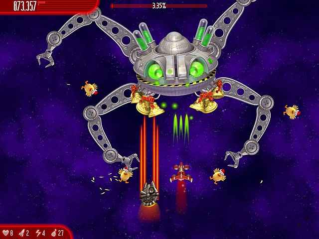 chicken invaders: ultimate omelette christmas edition screenshots 3
