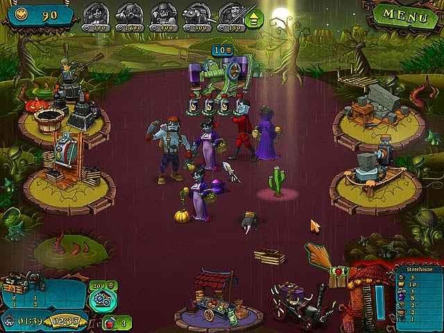 vampires vs zombies screenshots 3