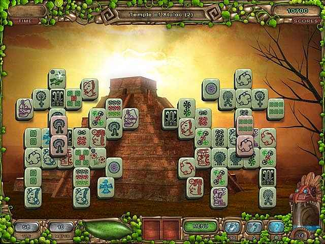 mahjong legacy of the toltecs screenshots 2