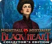 Nightfall Mysteries: Black Heart Collector's Edition