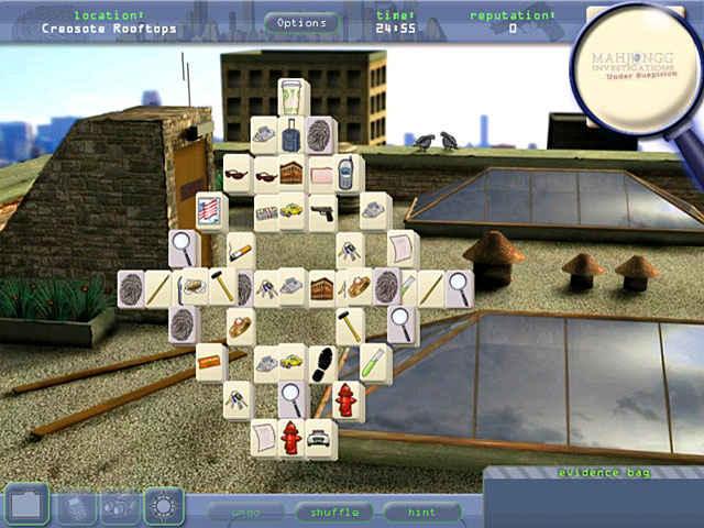 mahjongg investigation - under suspicion screenshots 1