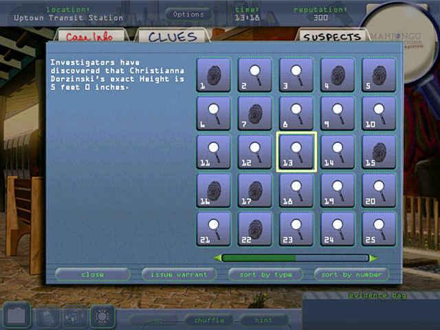 mahjongg investigation - under suspicion screenshots 3