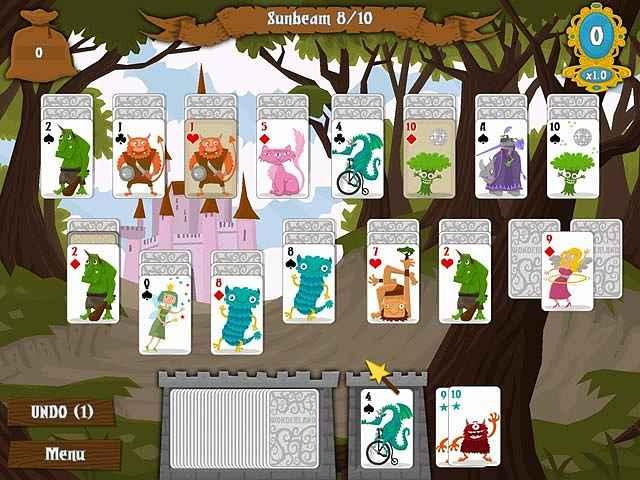 wonderland solitaire screenshots 2